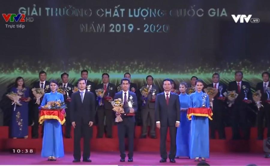 Prime đón nhận Giải thưởng Chất lượng Quốc gia 2020