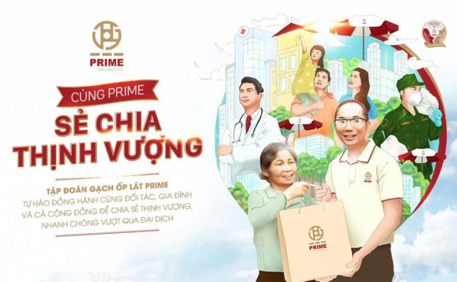 """Chương trình """"Cùng Prime Sẻ Chia Thịnh Vượng"""" hướng tới hỗ trợ cộng đồng phục hồi sinh kế sau đại dịch"""