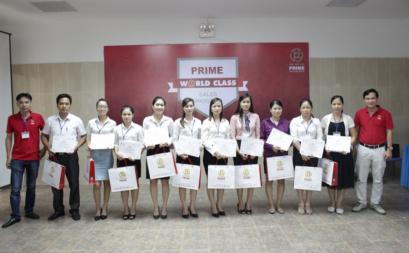 """Chương trình đào tạo """"Người bán hàng Quốc tế"""" dành cho hệ thống phân phối Prime tại Thái Bình"""