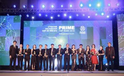 Lễ trao giải nhà phân phối Prime xuất sắc 2018