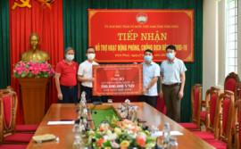 Prime Group ủng hộ 500 triệu đồng hỗ trợ tỉnh Vĩnh Phúc phòng chống dịch Covid-19
