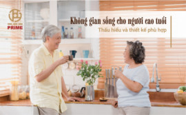Living space for the elderly - Understanding and suitable design