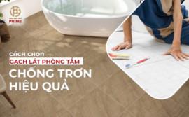 How to choose effective anti-slip bathroom floor tiles