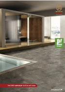 Anti slip floor tiles